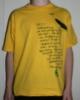 T-skjorte (GUL)